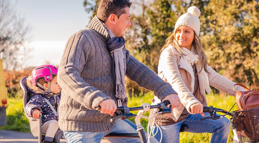 Cykelsits eller cykelvagn?